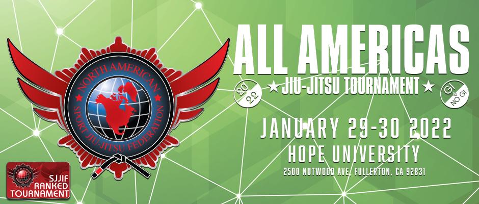 2022 all americas jiu-jitsu tournament