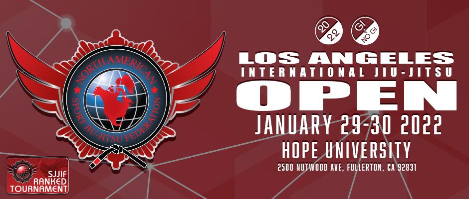 2022 los angeles International jiu-jitsu open