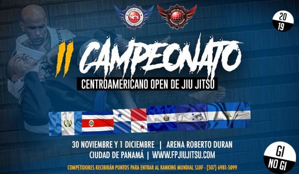 ii campeonato centroamericano open de jiu jitsu nogi
