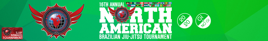 16th annual north american brazilian jiu-jitsu tournament