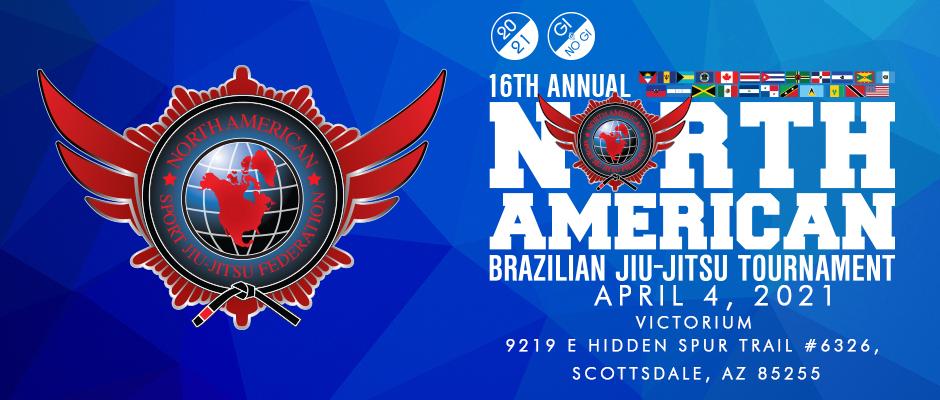 16th annual north american brazilian jiu-jitsu tournament