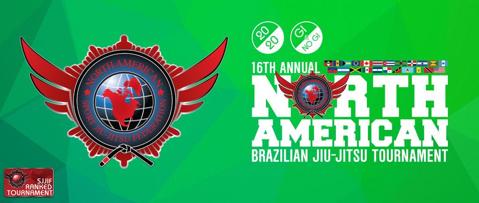 16th annual north american brazilian jiu-jitsu tournament nogi
